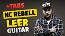 KC Rebell LEER fingerstyle guitar cover acoustic guitar tabs