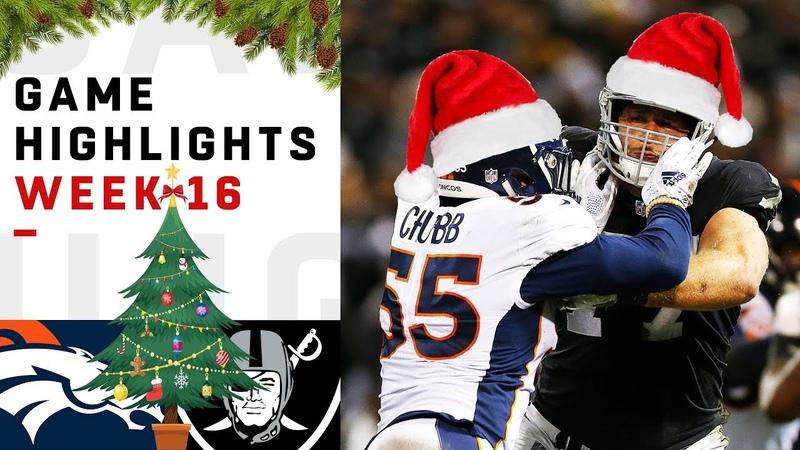Broncos vs. Raiders Week 16 Highlights   NFL 2018