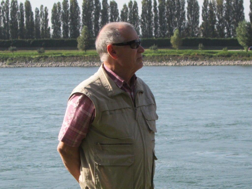 Александр Вебер из Раштатта, Баден-Вюртемберг, 75 лет