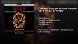 Concerto Fatto per la notte di natale Op. 3 No. 12 III. Allegro