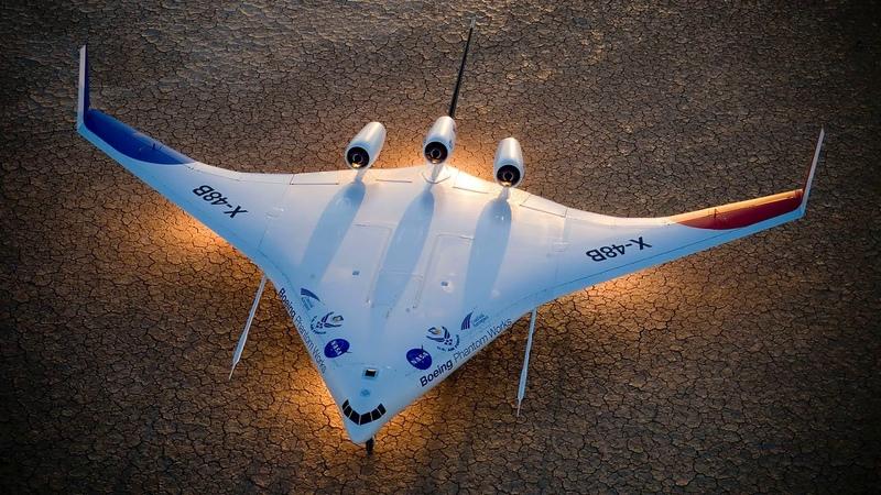 Картинка авиация. Авиация, боинг, x-48b, boeing phantom, nasa.