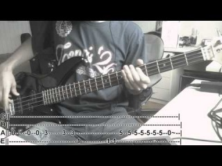 SWITCHFOOT - Dark Horses (Bass Cover with TABS)