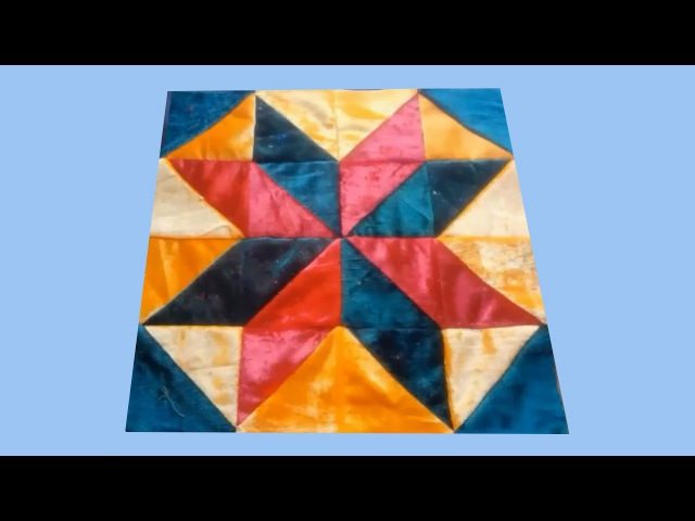 Жұлдыз құрақ Лоскутное шитье курак корпе patchwork sewing