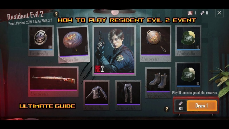 PUBG MOBILE 0.11.0 UPDATE GUIDE AND NEW EVENT | HOW TO PLAY RESIDENT EVIL 2 EVENT | COMPLETE GUIDE!