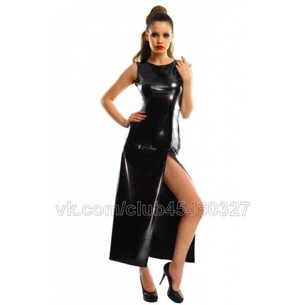 Платье Виниловое Купить