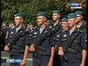 Первокурсники десантного училища приняли присягу