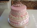 Двухъярусный торт