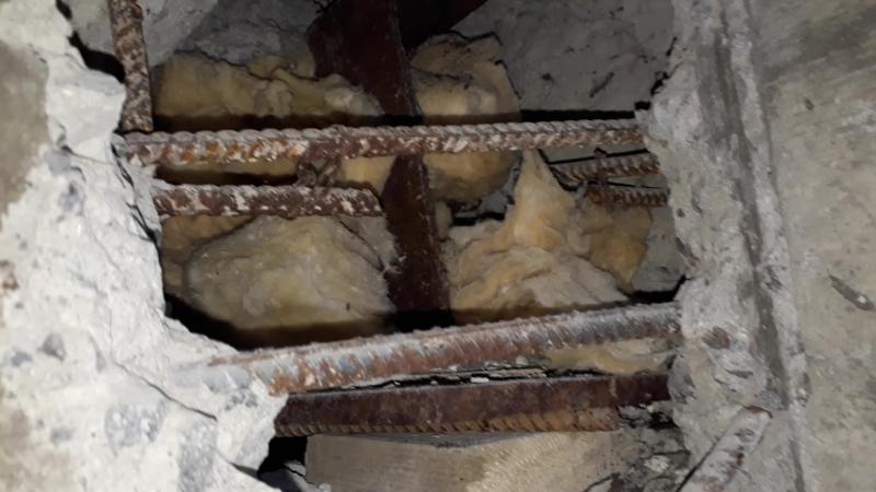 чёрная дыра в подвале