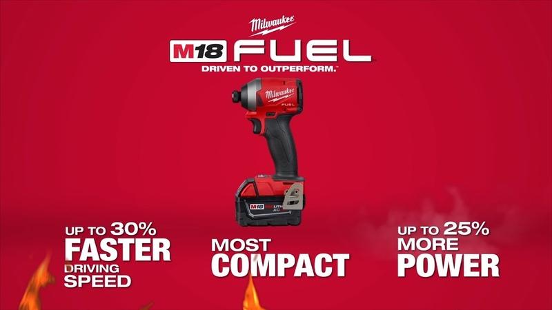 "Milwaukee® M18 FUEL™ ¼"" Impact Driver"