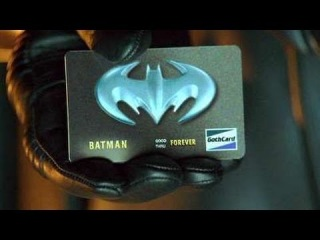 I Couldn't  Resist - BAT CREDIT CARD