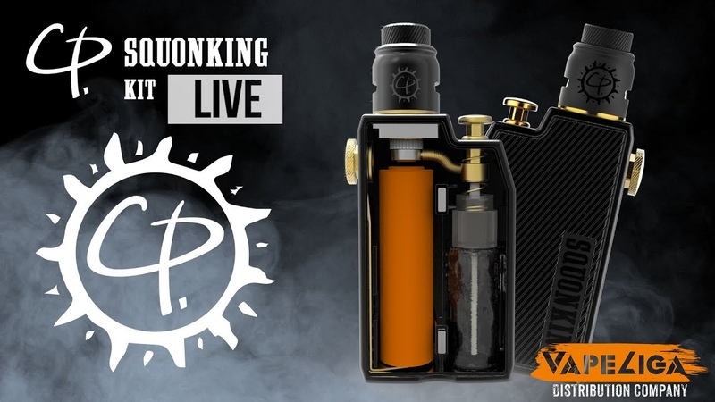 На первый взгляд \ CP Squonking Kit \ from VapeLiga.ru