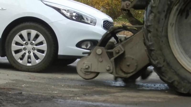 Оператор трактора по уборке улиц