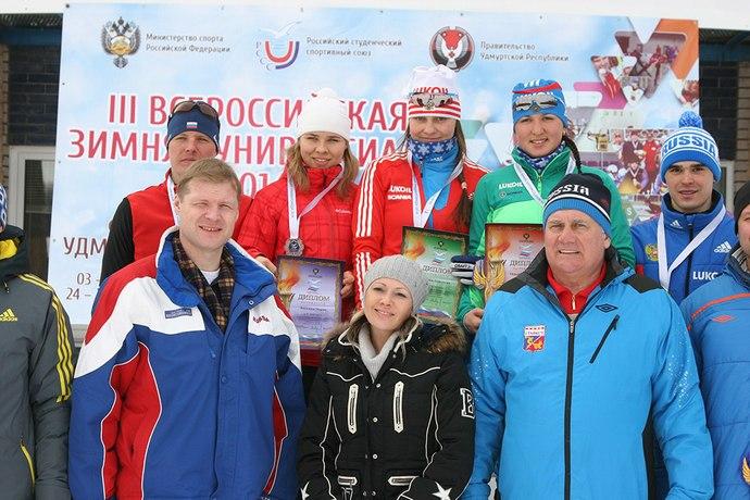 Ii всероссийская зимняя универсиада: лыжные гонки