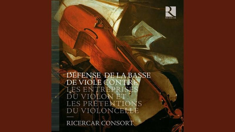 Les prétentions du violoncelle: Concerto « Le Phénix » en Ré Majeur: I. Allegro