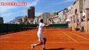 Del Potro vs Gasquet - Monte Carlo - Court Level View ❤️️TENNIS