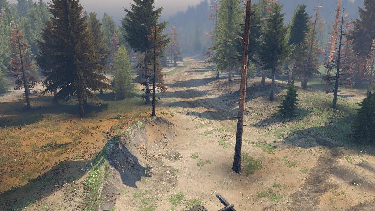 """Карта """"NuB"""" для 13.04.15 для Spintires - Скриншот 2"""
