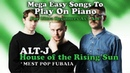 Alt J - House of the Rising Sun Easy Piano Tutorial