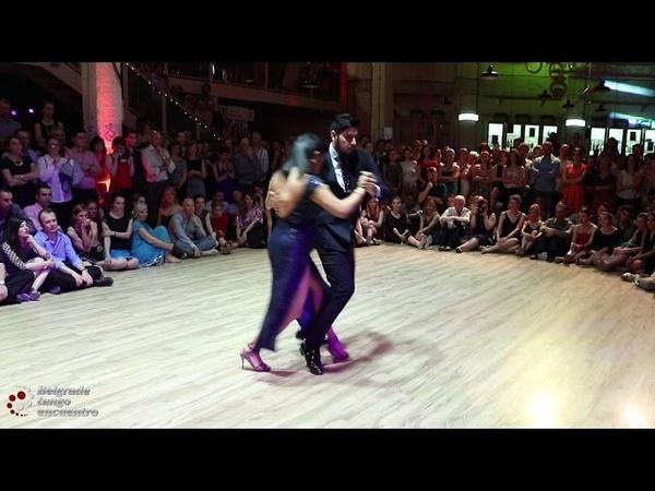 Sebastian Jimenez y Maria Ines - Spectacular Vals Performance@ Belgrade Tango Encuentro 2016 35