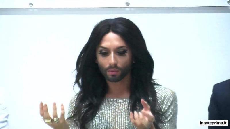 Conchita Wurst al Padova Pride Village, incontro con la stampa