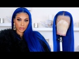 LET' S MAKE A WIG ELECTRIC BLUE