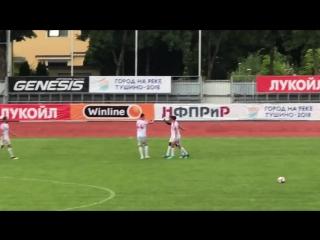 Гол Промеса. Спартак 1-0 Словацко