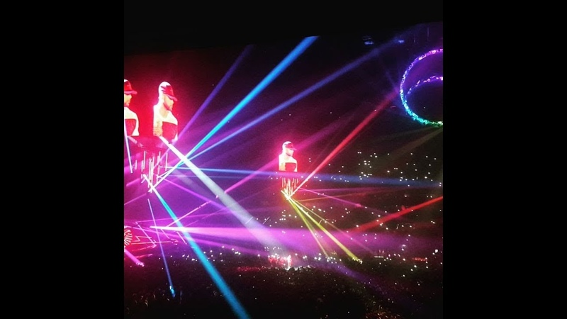 Booba Concert 'U Arena 45 minute 13/10/18 (non complet suiv)