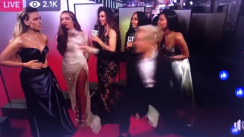 Little Mix на красной дорожке «Brit Awards 2019»