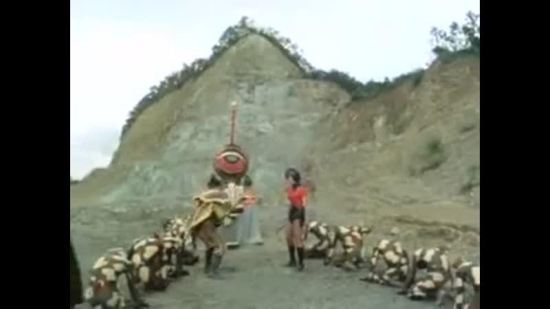 Gigantes Guerreiros Goggle Five Episódio 39.