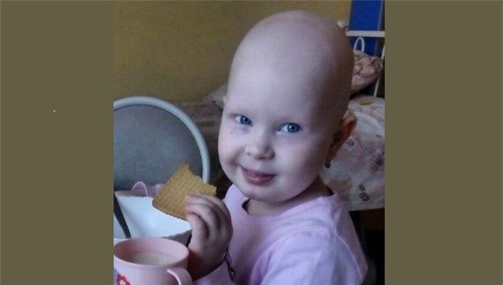 Томичи могут помочь 4-летней девочке победить опухоль мозга