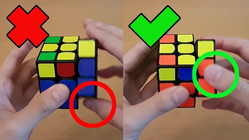 Rubik's Cube 7 Last Layer Tips CFOP