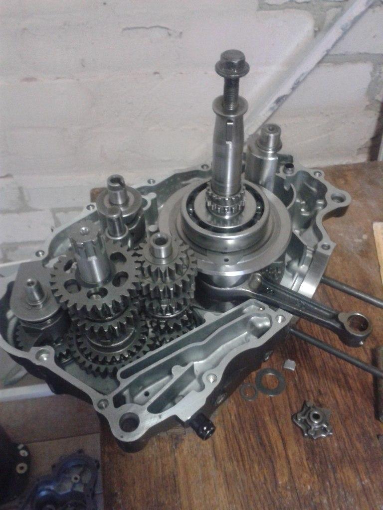 инструкция по разборке двигателя loncin