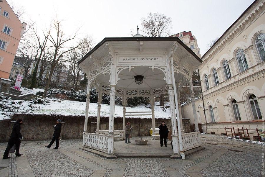 Карловы Вары Чехия источники курорт