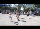 В Горловке организованы соревнования по стритболу г Горловка ДНР 14 авг 2018 г