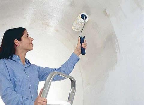 Покраска стен из гипсокартона своими руками видео