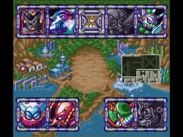 Мега Мен Х3 - Часть 4 - Взрыв Хорнет - (Прохождение на SNES)
