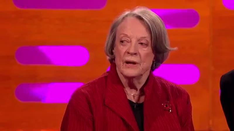 Мэгги Смит о роли в Гарри Поттере и Downton Abbey - Грэм Нортон шоу