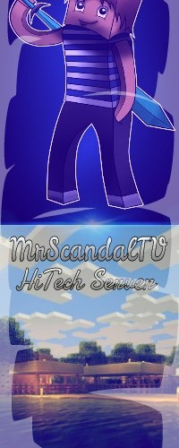 Scandaltv minecraft hitech server