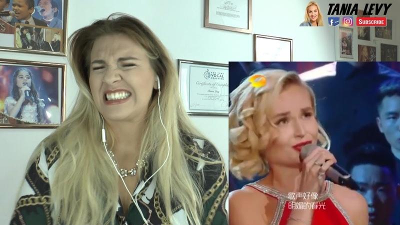 Vocal Coach |explains Polina Gagarina《喀秋莎 Катюша》《歌手2019》 Singer Преподаватель вокала