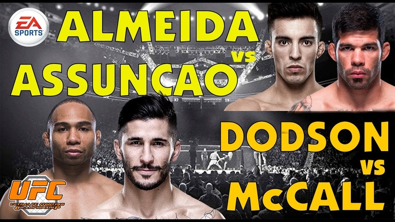 СТРИМ fightnight UFC 234 Almeida vs Assuncao UFC 234 Dodson vs McCall PLAY PS4 PRO