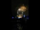 La Mercè musical fireworks display 2