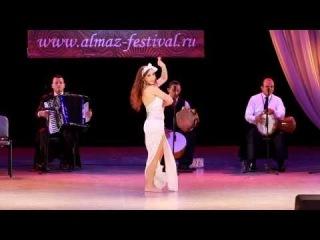 Diana Rakhimova - BALADI IMPROVISATION (1 Place) @ II Almaz Festival 2014