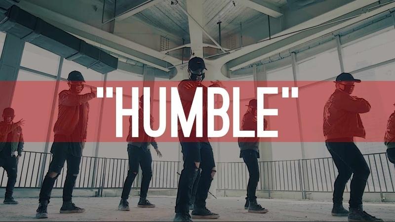 Kendrick Lamar Humble | Choreography by The Kinjaz