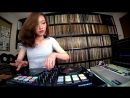 DJ SARA Freestyle Scratch with djay Pro and Reloop Beatpad 2
