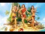 Фильм «Остров везения» 2013 Смотреть онлайн Трейлер комедии (Рома на острове с тремя девчонками)