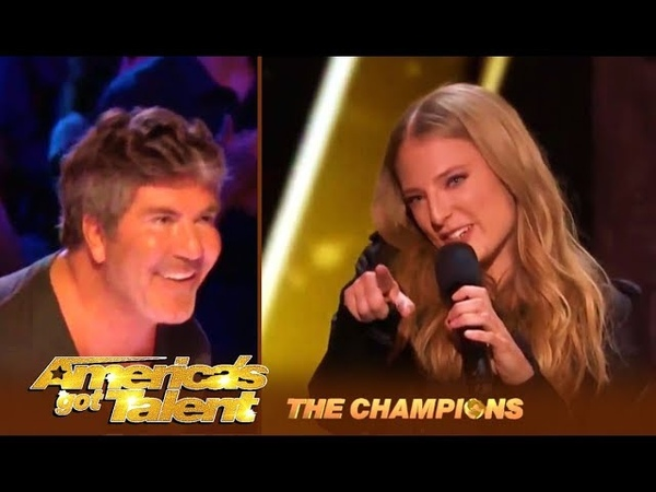 Sara Hero: Simon Cowell's FAVORITE Act Is Back! | America's Got Talent: Champions