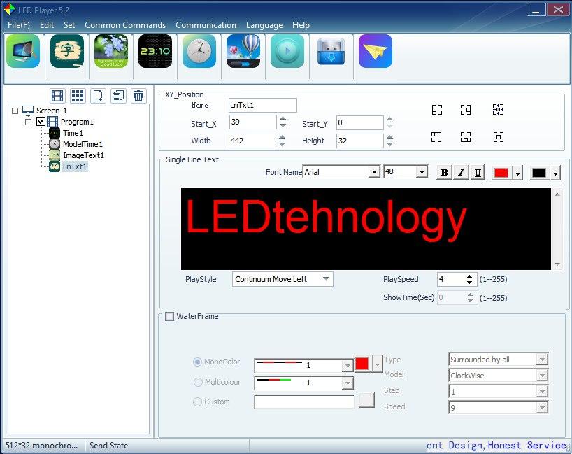 Cкачать программу LED Player 5.2