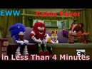 (Parody) Everything Wrong With Sonic Boom - Cabin Fever in Less Than 4 Minutes