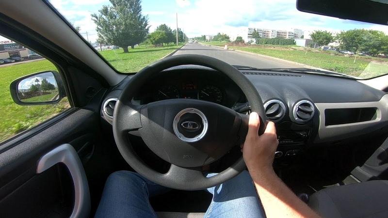 2015 LADA Largus 1.6L (84) POV Test Drive