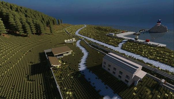 Minecraft Dayz Map