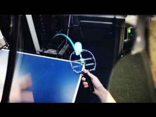 Leap Motion Table Tennis in Augmented Reality